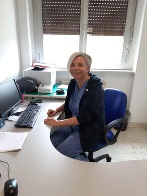 Elisa, coordinatrice infermieristica