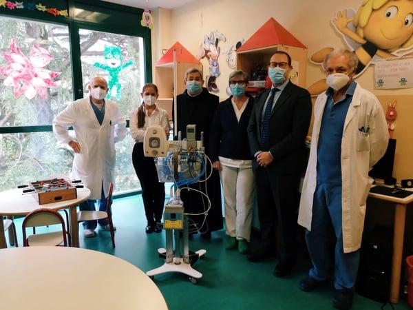 Macchinari anti-Covid: Ospedale Sacra Famiglia di Erba