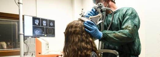ricercatori del Laboratorio Neurofisiologia, Dott.ssa Eleonora Arrigoni e Dott. Giacomo Guidali