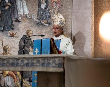 Visita del Vescovo di Brescia mons. Tremolada