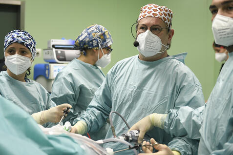 Corso di Chirurgia laparoscopica: Ospedale Sacra Famiglia di Erba