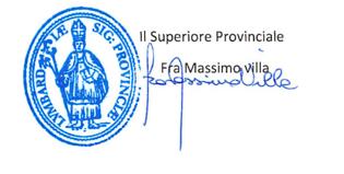 Firma Fra Massimo Villa