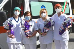Uova di cioccolato ICAM: Ospedale Sacra Famiglia di Erba