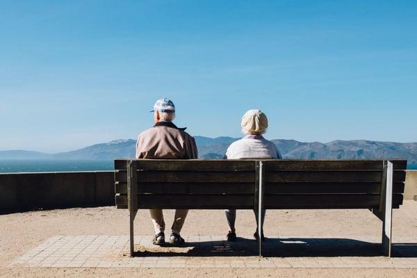 Stare all'aperto per i malati di Alzheimer e altre demenze
