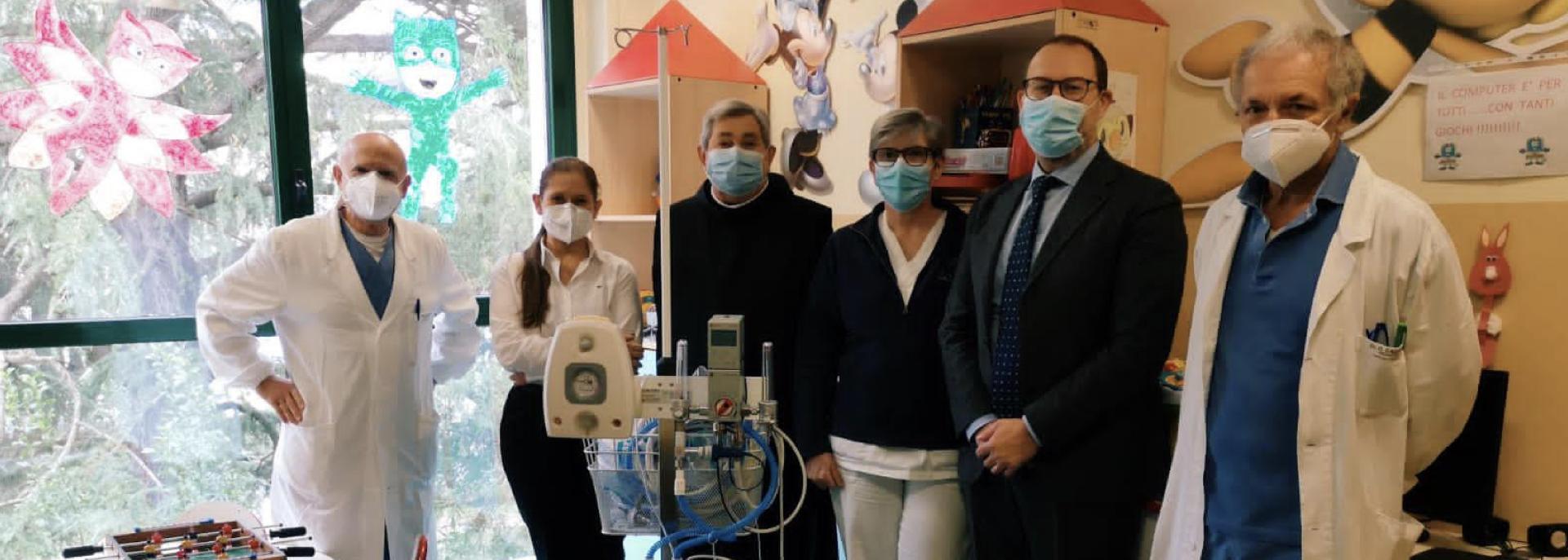 Ospedale Sacra Famiglia: nuovi apparecchi anti-Covid grazie alle donazioni