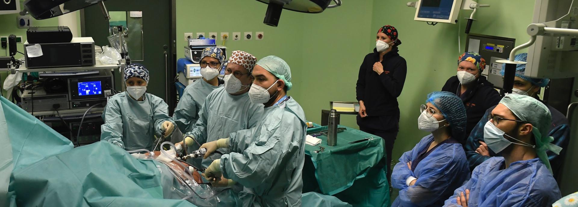 Ospedale Sacra Famiglia: nuovo progetto con la Scuola di Specializzazione di Chirurgia