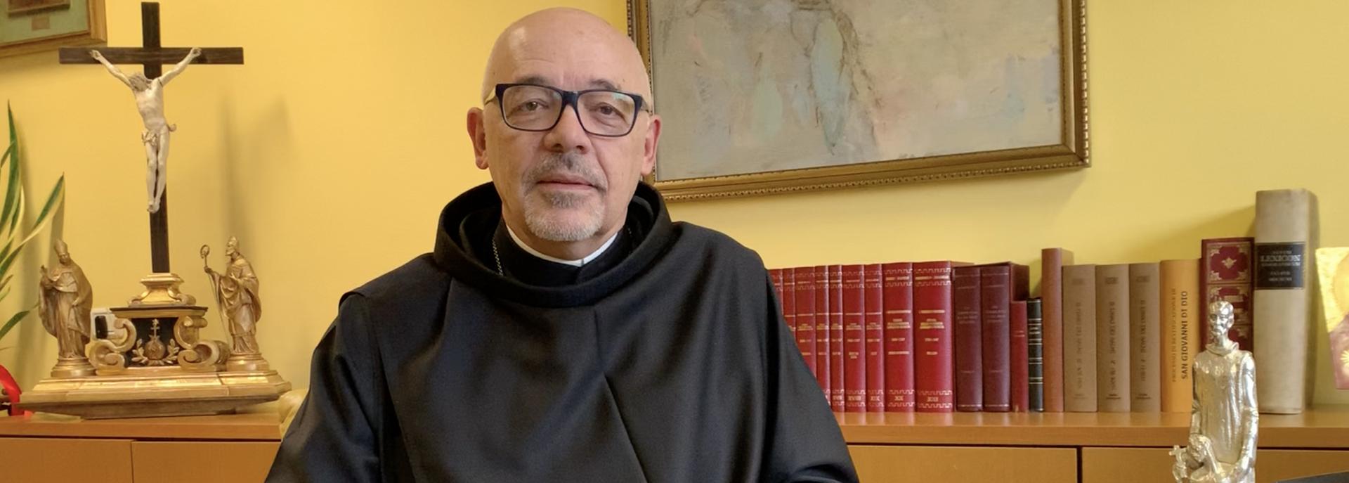 Il videomessaggio di Fra Massimo Villa: grazie alla Famiglia Ospedaliera di San Giovanni di Dio